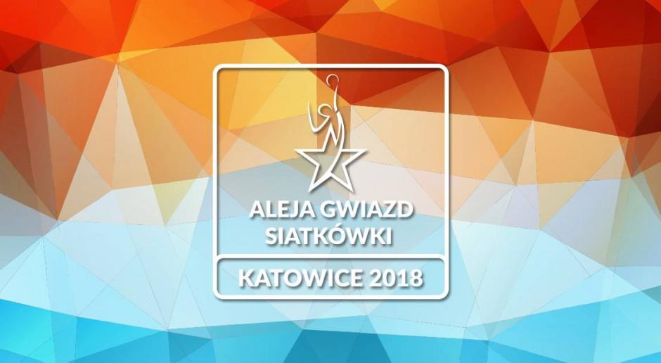 aleja gwiazd siatkówki  w Spodku 2018