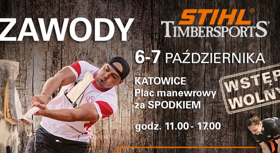 Zawody Stihl Timcersports w  Spodku Katowice