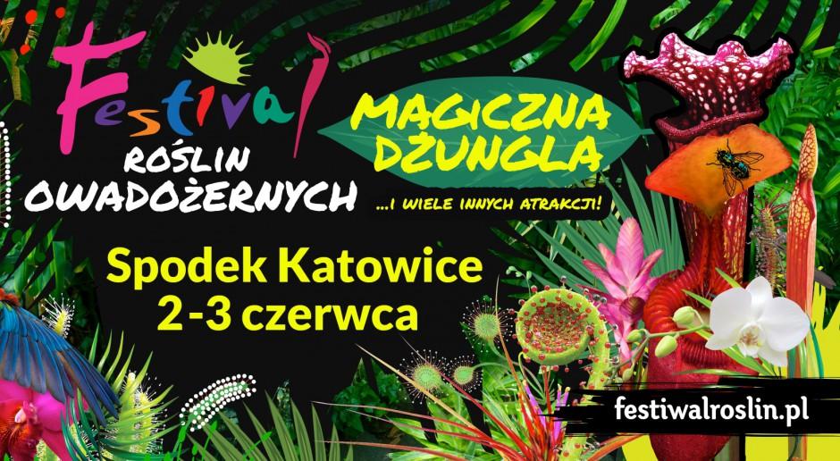 Festiwal Roślin Owadożernych w Spodku