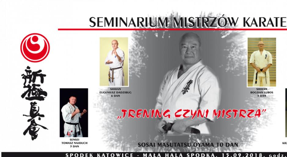 Seminarium Karate w Spodku