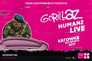 Koncert Gorillaz w Międzynarodowym Centrum Kongresowym