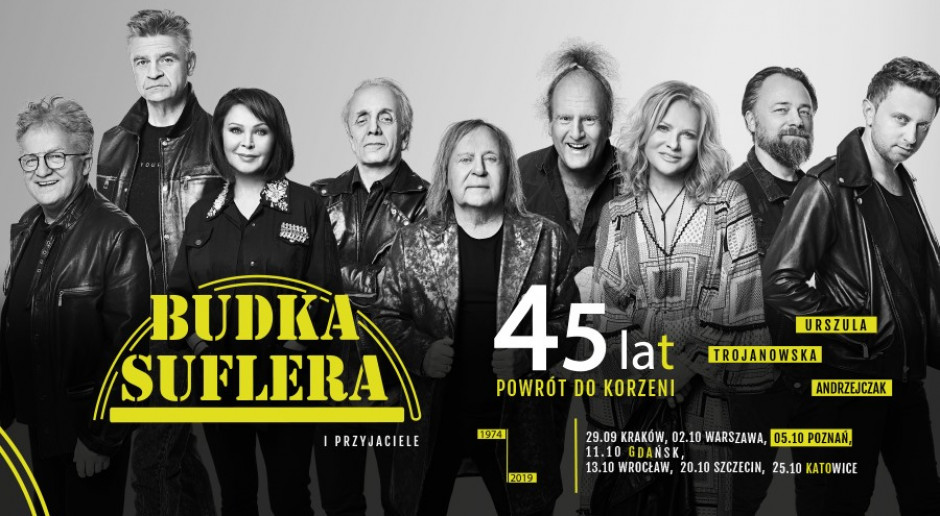 Koncert Budki Suflera w Spodku