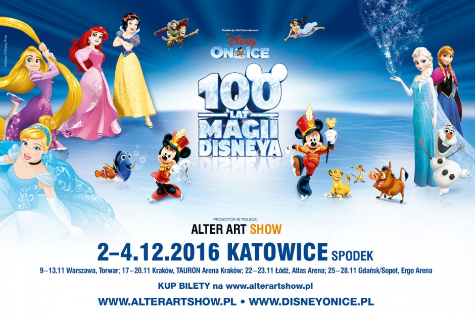 Disney on ice w Spodku