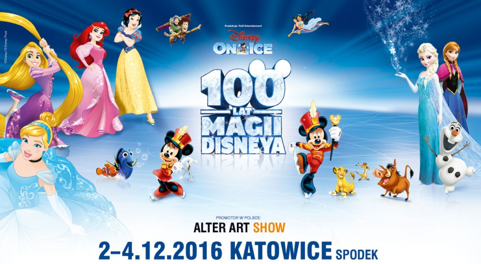Disney on ice w Spodku