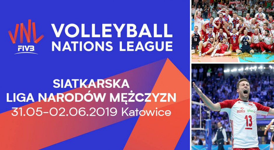 Volleyball nations League w Spodku 2019