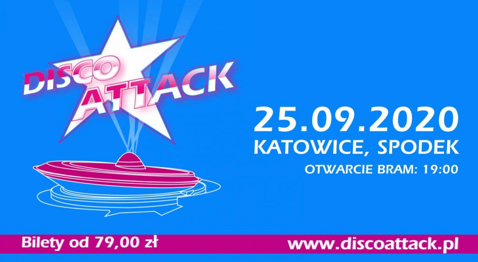 Disco Attack w Spodku 2020