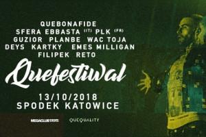 Quefestival w Spodku 2018