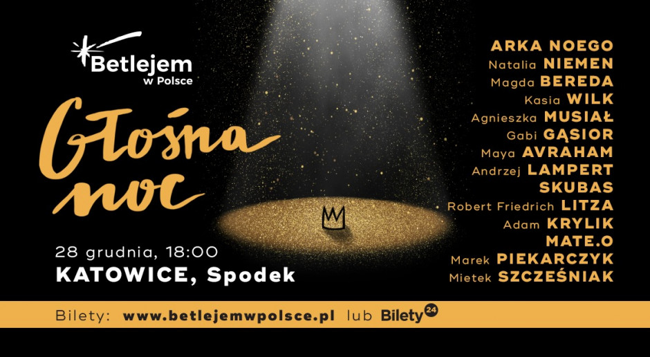 Głośna noc w Katowicach Spodek 2019