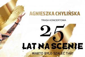 """Agnieszka Chylińska """"Warto było szaleć tak!"""" 25 lat na scenie"""