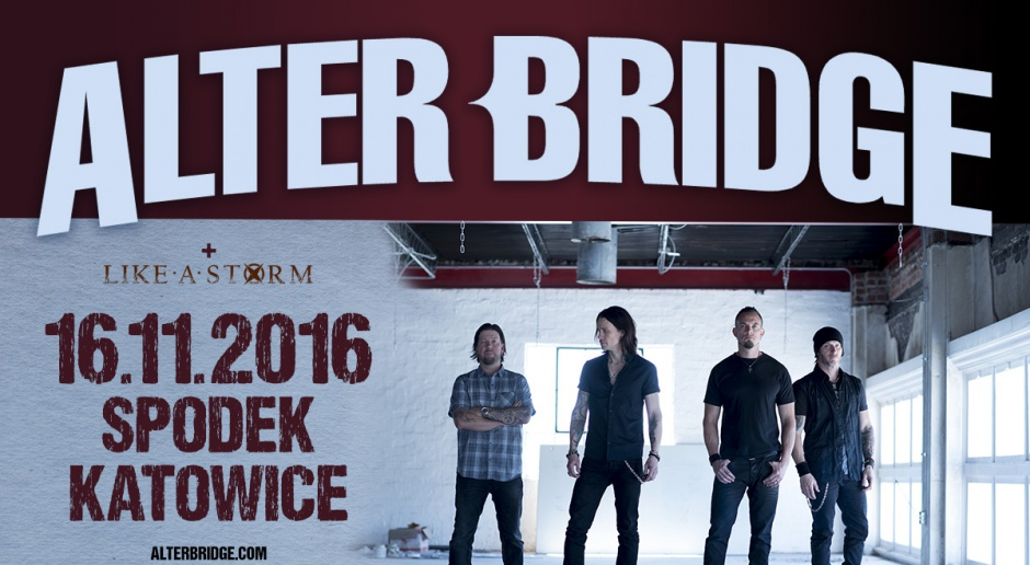 Alter Bridge w Spodku