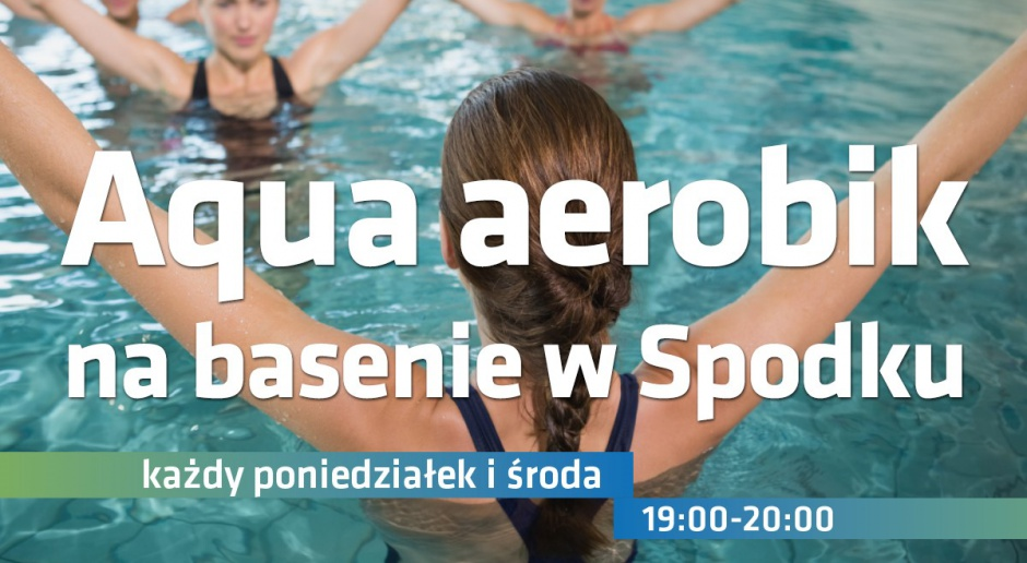 Aqua aerobik w Spodku