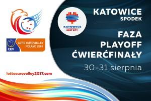 Ćwierćfinały Lotto Eurovolleyball 2017 w Spodku