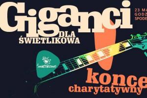 Giganci dla Świetlikowa, koncert charytatywny w Spodku