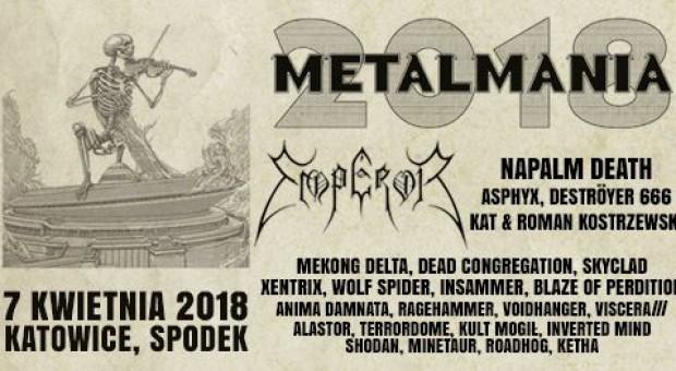 Metalmania returns to Spodek Arena