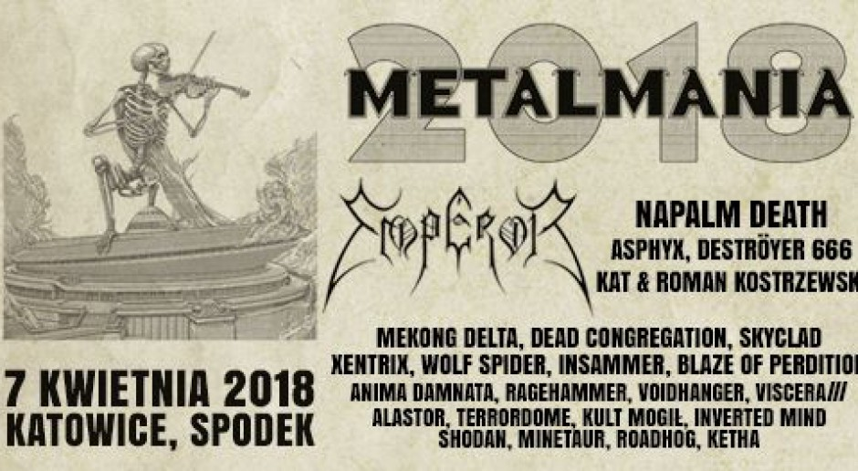 Metalmania returns to Spodek Arena