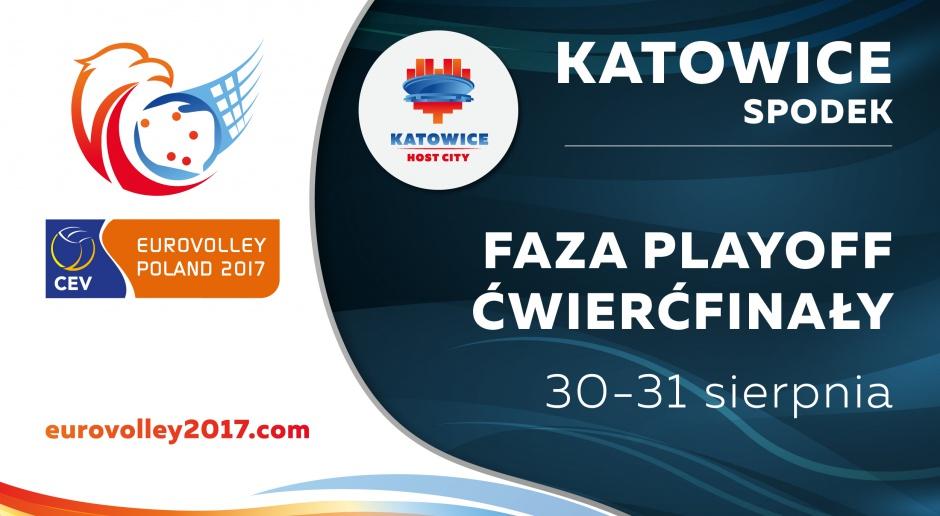 Ćwierćfinały Eurovolleyball 2017 w Spodku