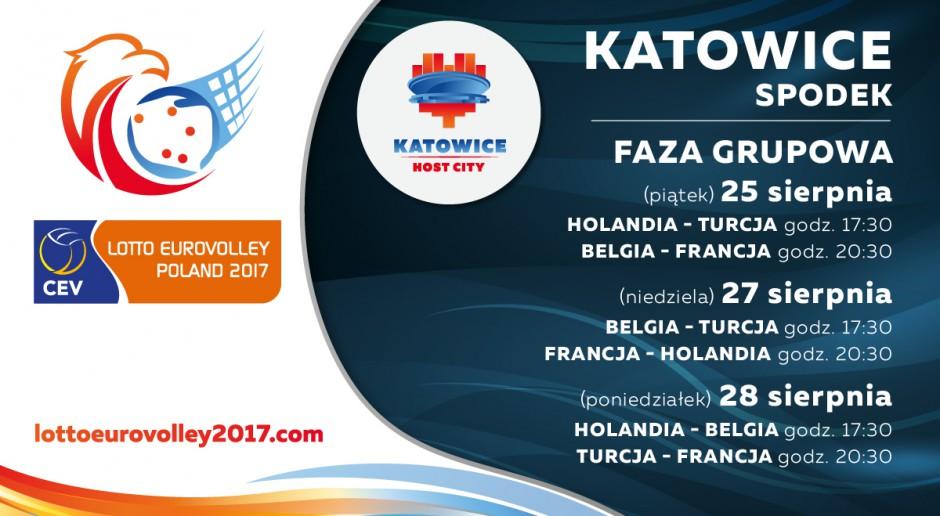 Faza grupowa Mistrzostw Europy w piłce siatkowej mężczyzn – LOTTO EUROVOLLEY POLAND 2017