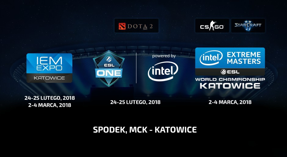 Intel Extreme Masters 2018  Spodek MCK